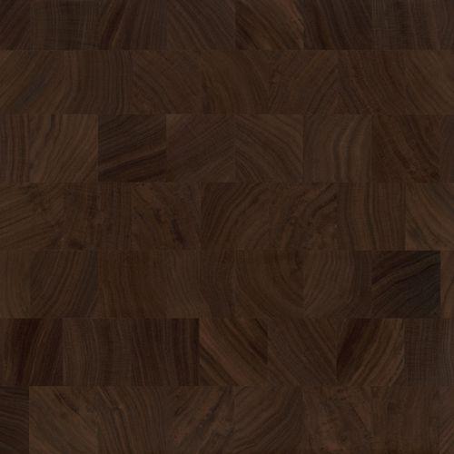 black walnut and rustic black walnut end