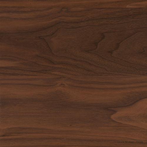 black walnut and rustic black walnut plank