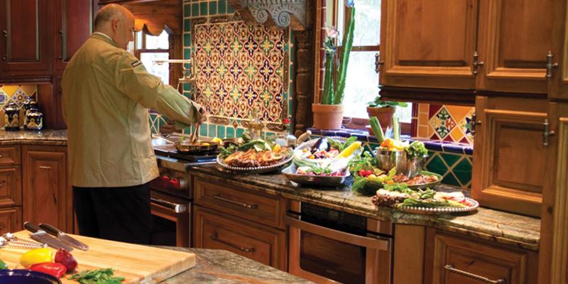 gourmet kitchen 1