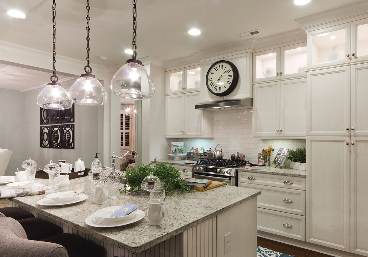Designers: Terri Saint and Brian Hall. Classica Homes. Photo: Serena Apostal. Studio Design.